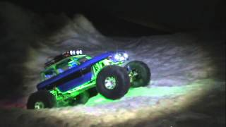 Randys Rc Hobbyroom Axial Ford Bronco Spring Snow Hill Climbing