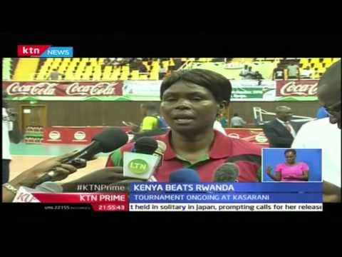KTN Prime: Kenya Beats Rwanda in Volleyball Under-23 tourney at Kasarani