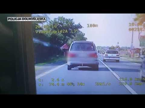 Wideo: Pirat zatrzymany na drodze śmierci
