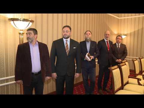 Президент страны провел встречу с организаторами международной конференции «От Атлантики до Тихого океана: за общую судьбу евразийских народов»