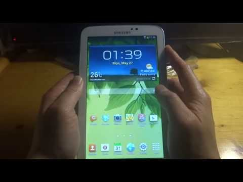 Samsung Galaxy Tab 3 T210 7.0 wifi Test 1