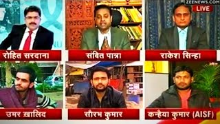 Video DeshDhrohi Vs DeshBhakt | Rohit Sardana & Sambit Patra Vs Kanhaiya Kumar & Umar Khalid | Hot Show MP3, 3GP, MP4, WEBM, AVI, FLV April 2019