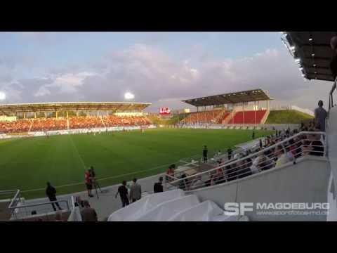 Video: Auswärtssupport - FSV Zwickau vs.1. FC Magdeburg 01.09.2016