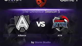 Alternate Attax vs Alliance, game 1