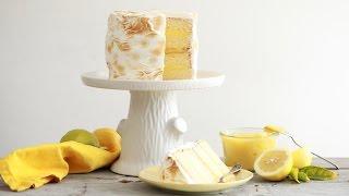 Lemon Meringue Cake - Gemma's Bigger Bolder Baking by Gemma's Bigger Bolder Baking