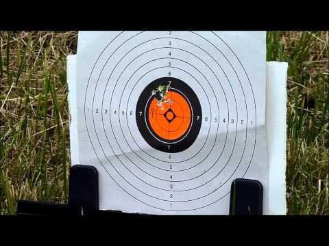 Theoben 50 yards group test