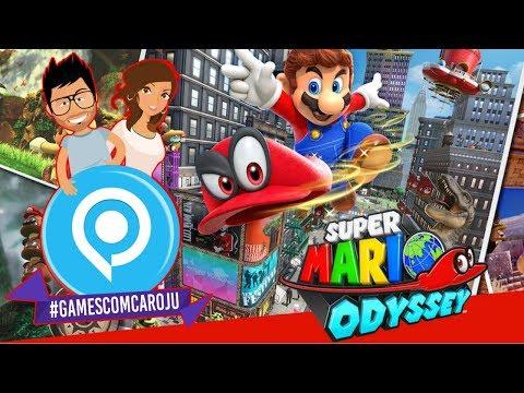 SUPER MARIO ODYSSEY : la conférence Nintendo #GamescomCaroJu
