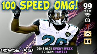 THIS WILL BE THE SICKEST MUT CARD IN MADDEN 17 ULTIMATE TEAM!I'm finna bench Night Train Lane # Weeks In advance of Spotlight Master 100 speed Jalen Ramsey! IDGAF!Website: https://bit.ly/GmiasWorldWebsite -Watch my YouTube vids, download my free albums, listen to my podcasts!Twitter: https://bit.ly/GmiasWorldTwitter -Easiest way to contact me, enter giveaways & know when I'm livestreaming!Twitch: http://bit.ly/GmiasWorldTwitch-Watch me stream live, be part of giveaways & MORE!I still do podcasts, but it's on another channel:https://bit.ly/GmiaYouTubeI play other games also, Check out some NBA 2K here: https://www.youtube.com/playlist?list=PLgaB7bFsKcslF7VZ8Dc0Y1vKfkCJ_EAEb100 SPEED JALEN RAMSEY CARD INFO LEAK IN MADDEN 17 ULTIMATE TEAM! LETS GO!!!