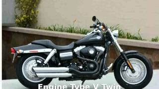 7. 2012 Harley-Davidson Dyna Glide Fat Bob Features