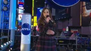 Performing Live in Times Square on New Years Eve - Tiffany Alvord