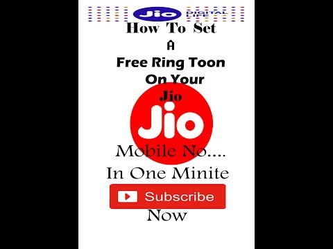 how to set a free caller tone or ring toon
