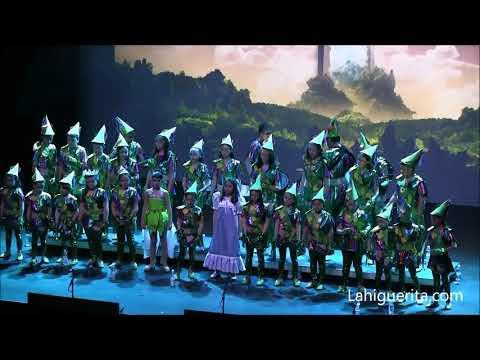 Comparsa infantil de Isla Cristina El mundo de siempre carnaval