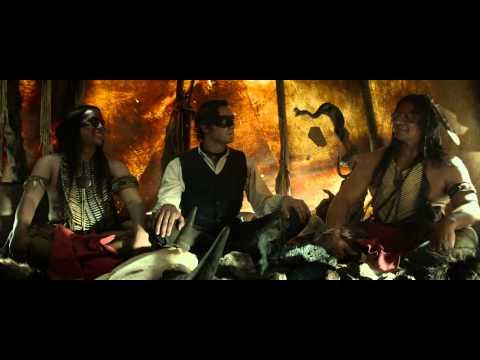 THE LONE RANGER (Ο ΜΟΝΑΧΙΚΟΣ ΚΑΒΑΛΑΡΗΣ) - TRAILER (GREEK SUBS)