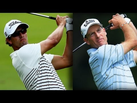1st round highlights from the 2013 PGA Championship