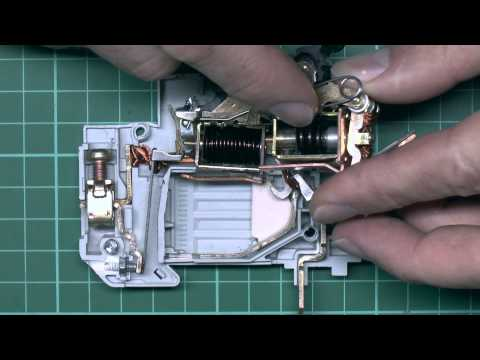 Circuit Breakers - How they Work, What's Inside
