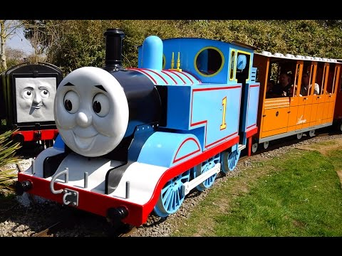 The Thomas The Tank Engine Experience at Drusillas Park 2007-2017