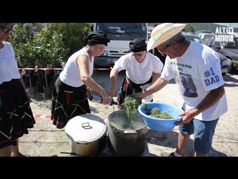 Feira Tradicional em Riba de Mouro | Altominho TV (видео)