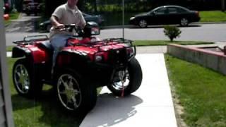 9. Custom ATV  Wheels ( Awesome)  4x4 Honda big rims
