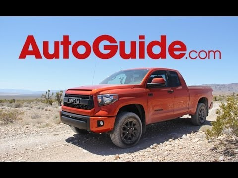 2015 Toyota Tundra TRD Pro Off-Road First Drive Review: Raptor Fighter