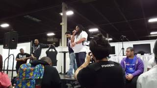 Smash community tribute to Christina Grimmie at Apex 2016