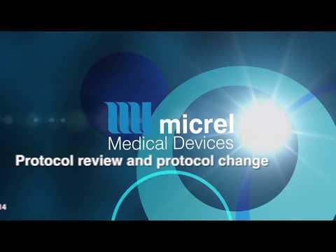4 3 Protocol change and reveiw - Hướng dẫn sử dụng bơm tiêm giảm đau Rythmic Micrel