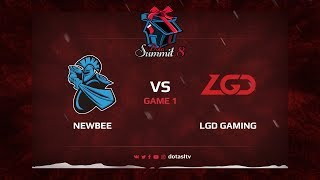 Newbee против LGD Gaming, Первая карта, Квалификация на Dota Summit 8