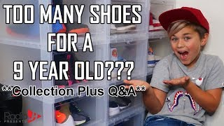 SHOE COLLECTION Plus Q&A | 9 Year Old SNEAKER HEAD