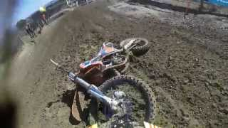 Montevarchi Italy  City pictures : GoPro HD: Simone Paolucci Onboard Crash in Montevarchi Italian Motocross Championship 125cc