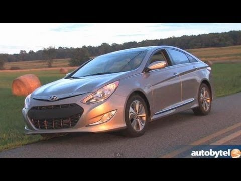 2013 Hyundai Sonata Hybrid w/ Blue Drive Test & Car Video Review