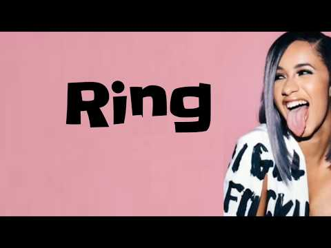 Cardi B - Ring feat. Kehlani (Lyrics)