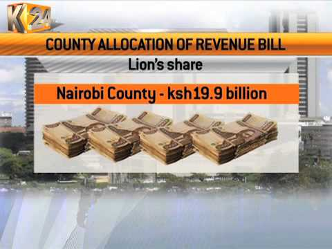 N. Assembly set to debate how counties will share the Ksh. 287B