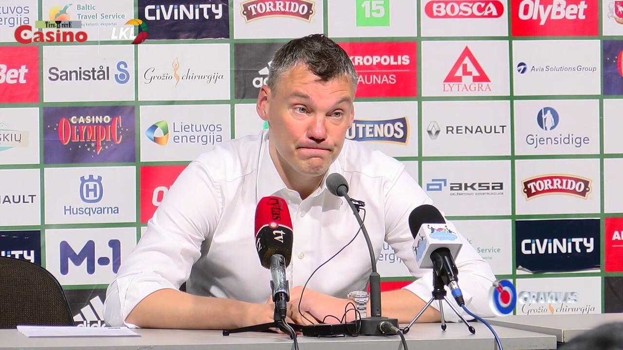 """Š.Jasikevičus: """"Šiandien vos neaplošėme savęs"""""""
