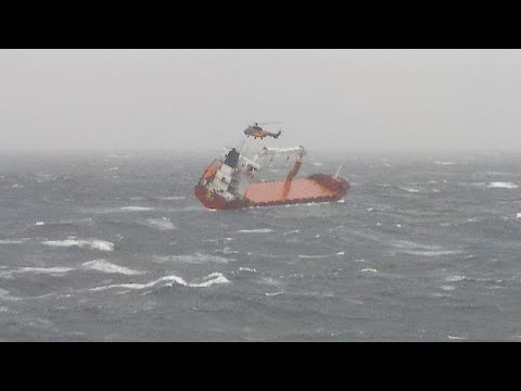 Επιτυχής διάσωση του πληρώματος ακυβέρνητου πλοίου στο Αιγαίο…
