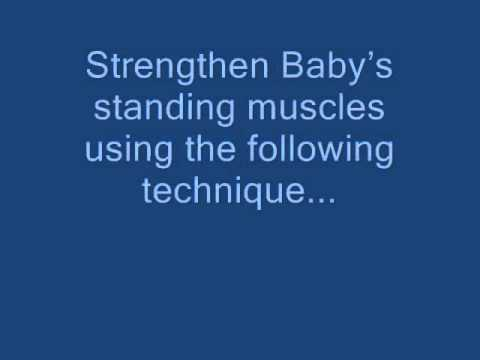 How to get Baby to walk early, Exercises for Baby to walk early