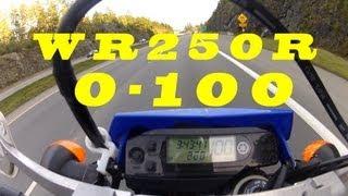 9. Ride 41: Yamaha WR250R Dual Sport 0-100 kph (0-60mph)