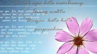 cinta kita-teuku wisnu ft shireen sungkar lyrics