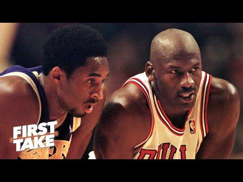 Stephen A.: Kobe Bryant always wanted to take down Michael Jordan | First Take