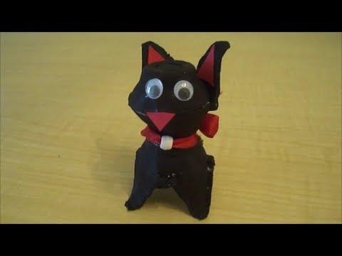 Cum sa confectionati o pisicuta din carton