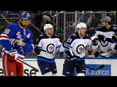 Video: Jets' Laine lights up the Rangers for hat trick