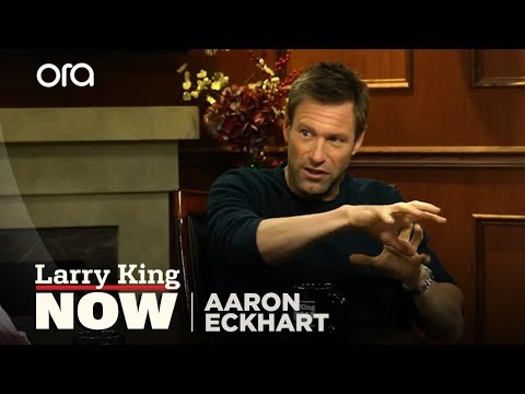 Aaron Eckhart On Working With Heath Ledger In 'The Dark Knight' | Larry King Now