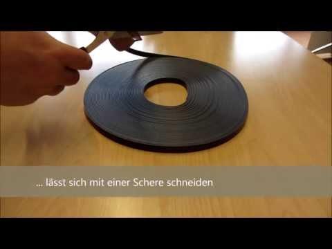 Magnetband selbstklebend