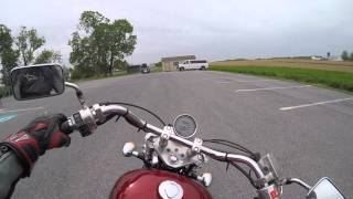 3. 2002 Honda VLX 600 shadow test drive review