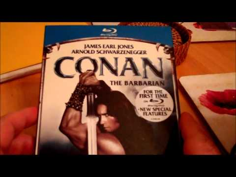 Review Of The Conan The Barbarian Blu-Ray UK Version.  How To Watch It Uncut