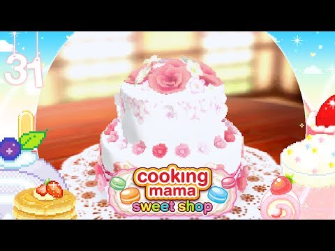 ♡ Cooking Mama Sweet Shop (Gameplay): 31 - Wedding Cake ♡