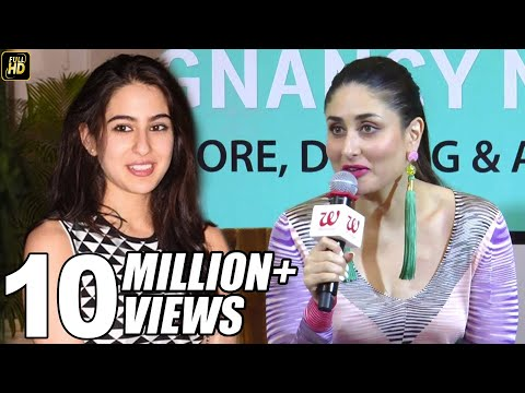 Video She Is Very Beautiful - Kareena Kapoor's Reaction On Sara Ali Khan download in MP3, 3GP, MP4, WEBM, AVI, FLV January 2017