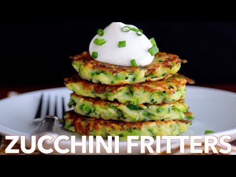 How To Make Easy Zucchini Fritters - Must Try Recipe