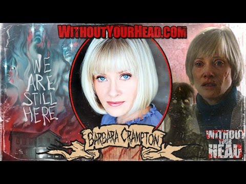 Barbara Crampton of We Are Still Here interview