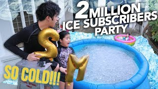 Video 2 MILLION ICE SUBSCRIBERS PARTY | Ranz and Niana MP3, 3GP, MP4, WEBM, AVI, FLV September 2018