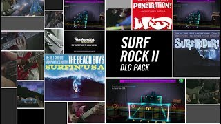 "Learn to play 4 surf rock hits from the 60s! ""Surfin' U.S.A."" by The Beach Boys, ""Penetration"" by The Pyramids, ""Surf Rider"" by The Lively Ones, and ""Pipeline"" by The Chantays will be available today on Xbox Live, PlayStation Network, and Steam. The songs may be posted later for players in territories served by the European PlayStation Store due to differences in publishing times. See the tunings and arrangements below. ""Surfin' U.S.A."" by The Beach Boys – E Standard – Lead/Alt Lead/Rhythm/Bass""Penetration"" by The Pyramids – E Standard – Lead/Rhythm/Bass""Surf Rider"" by The Lively Ones – E Standard – Lead/Rhythm/Bass""Pipeline"" by The Chantays – E Standard – Lead/Rhythm/BassFor more information, visit http://www.rocksmith.com"