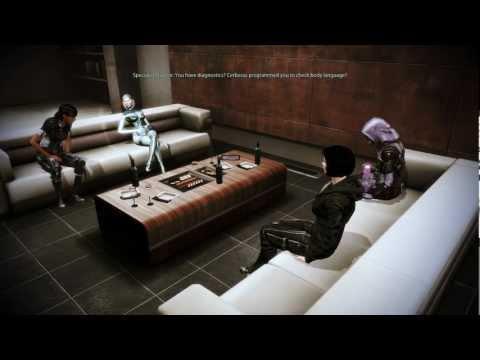 Mass Effect 3 Citadel DLC: EDI and Traynor's awkward conversation (видео)